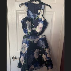 Floral Homecoming Dress